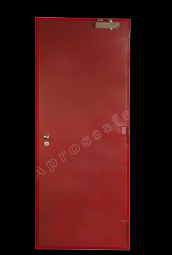 FIRE DOOR WITH TERALIS