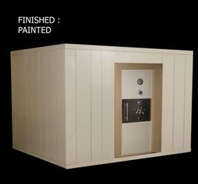Fire Door Strong Room Modular Vault Room Brankas